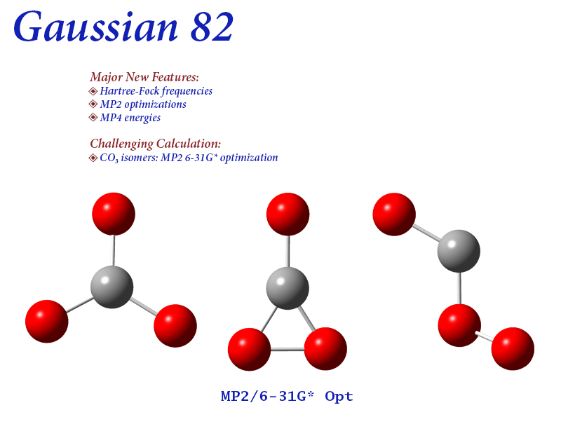 Gaussian com   Expanding the limits of computational chemistry