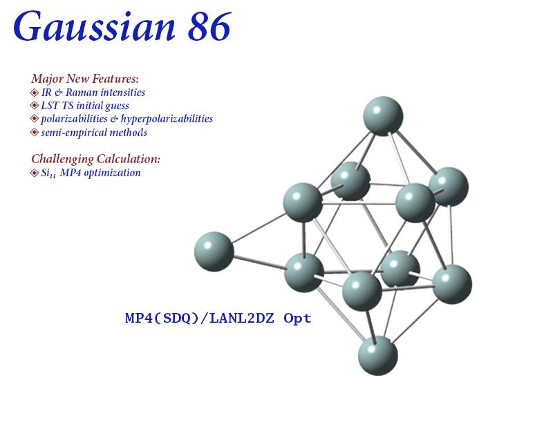 Gaussian com | Expanding the limits of computational chemistry